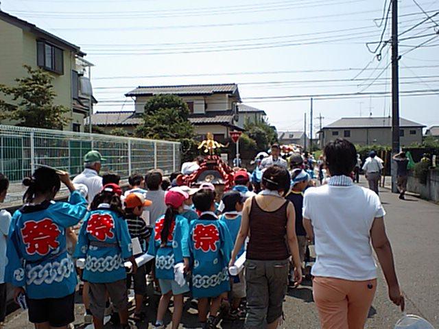 自治会のお祭り