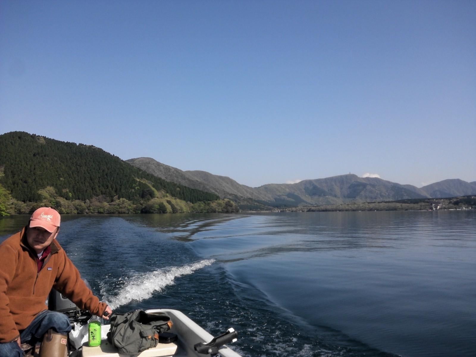 久し振りの芦ノ湖