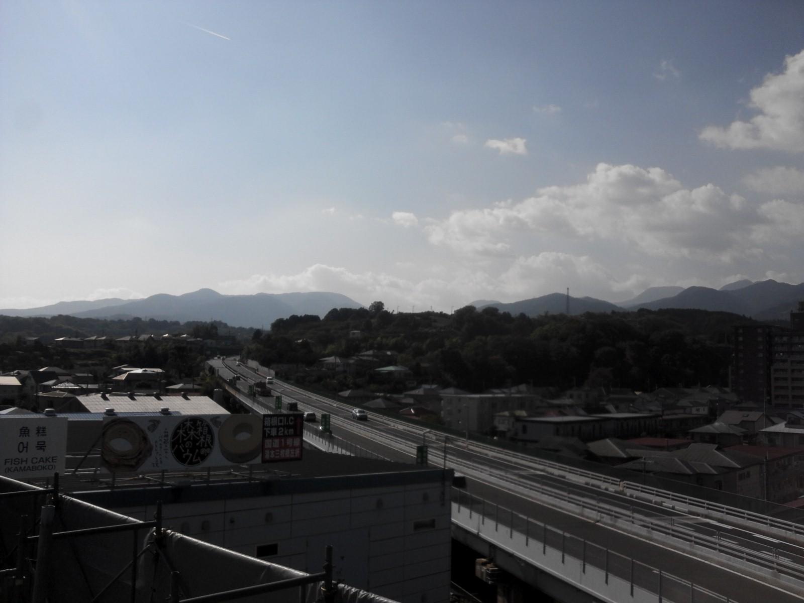 現場屋上からの眺め