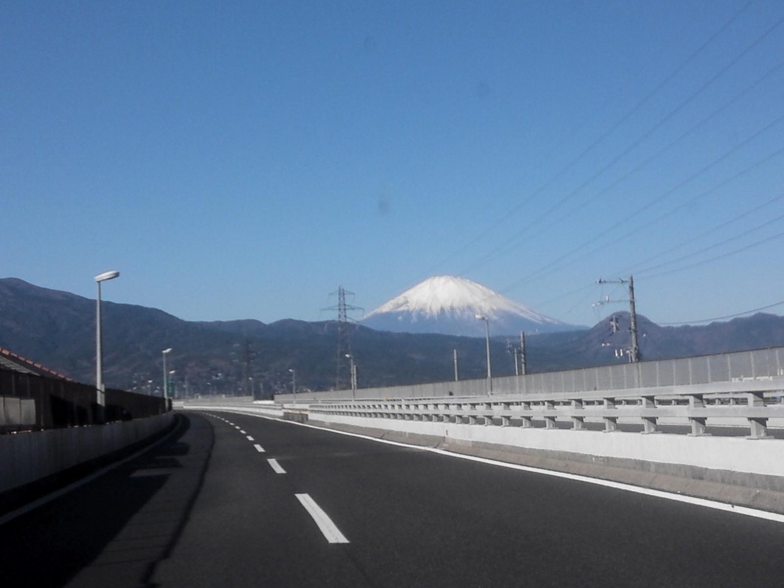 小田厚からの富士山