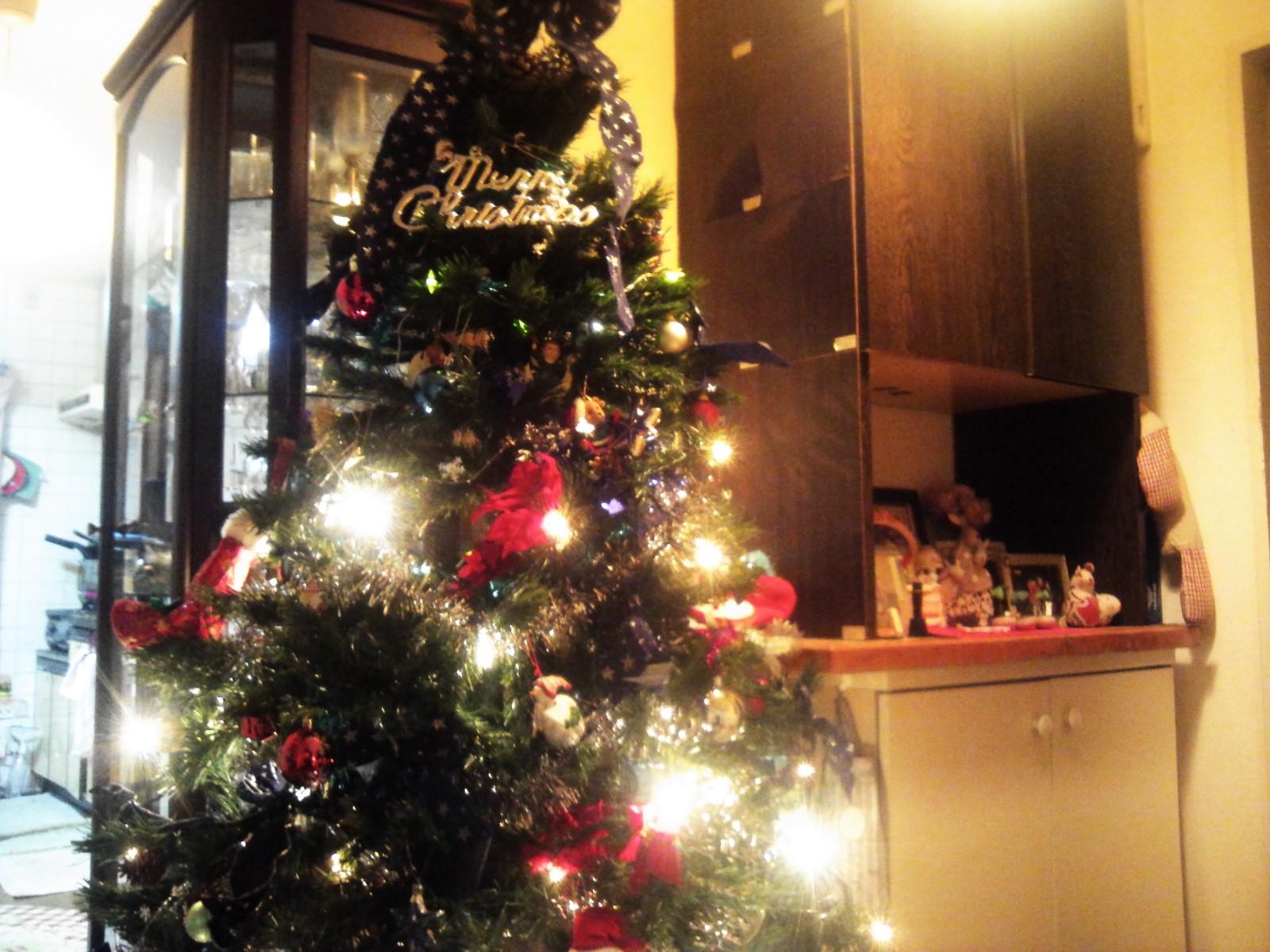 三年振りにクリスマスツリー