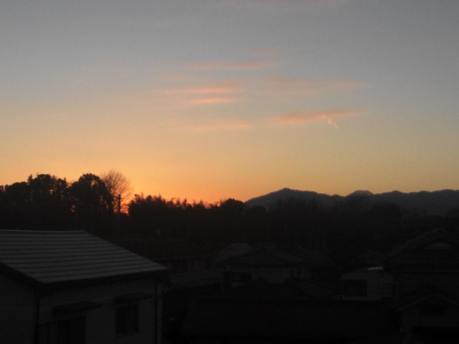 2013ブービーの夕陽