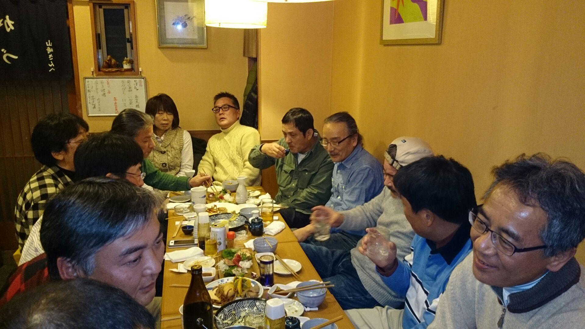 ハンドクラフト展+新年会