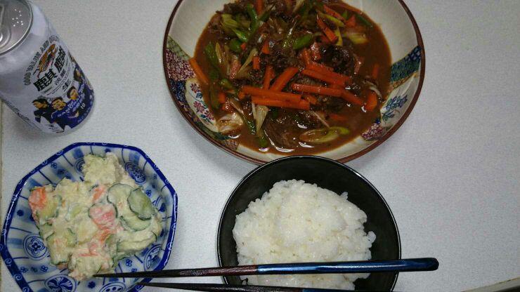 青椒牛肉(改)