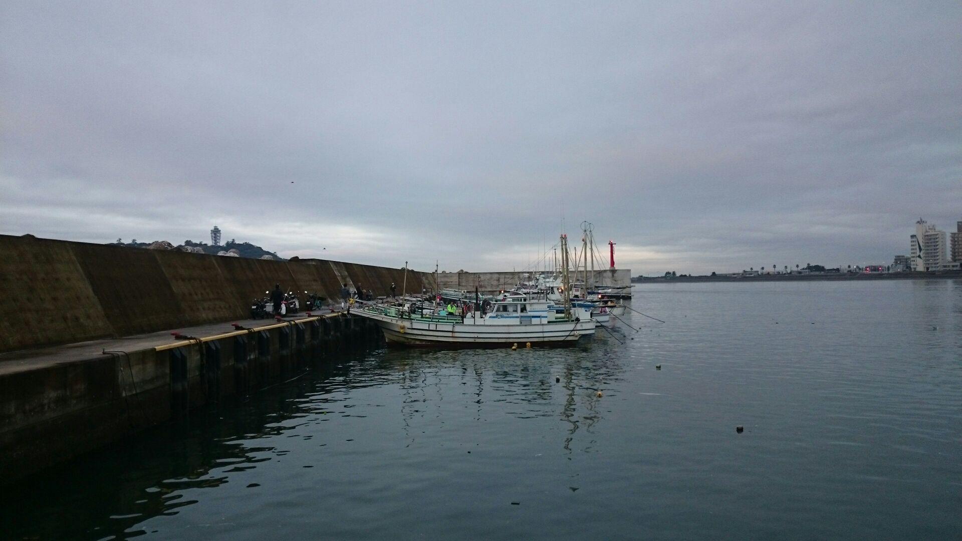 初の船釣り