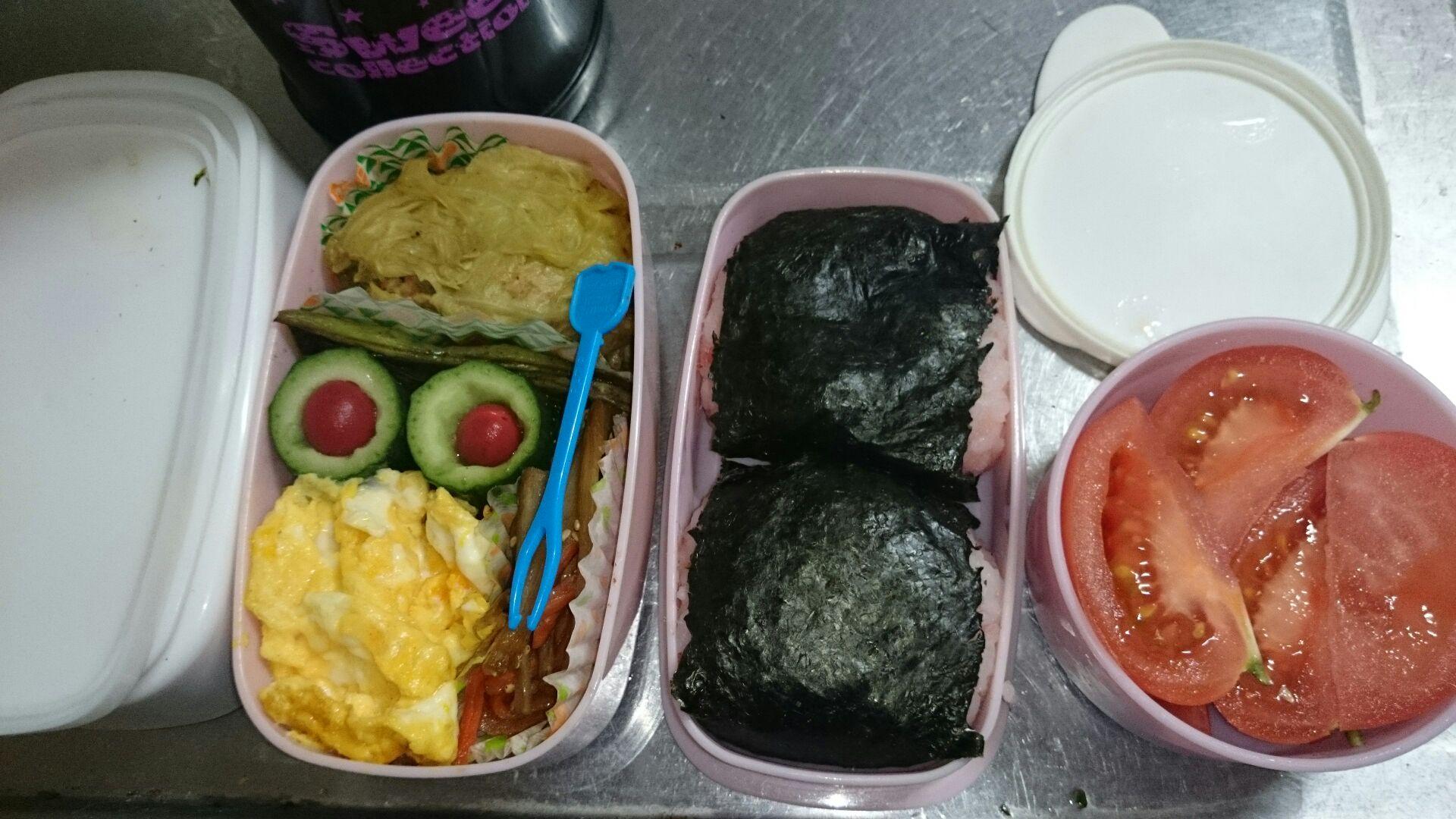 中学校最後のお弁当