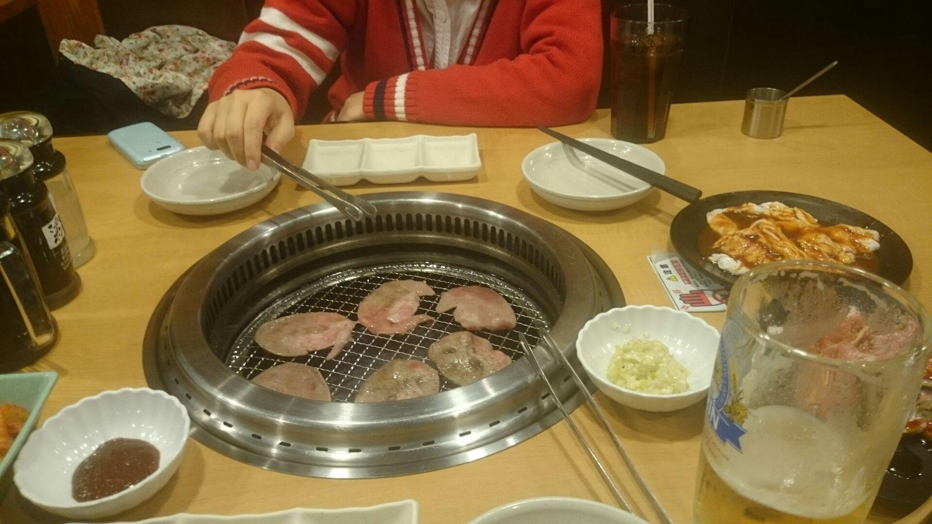 入学祝いの焼き肉屋