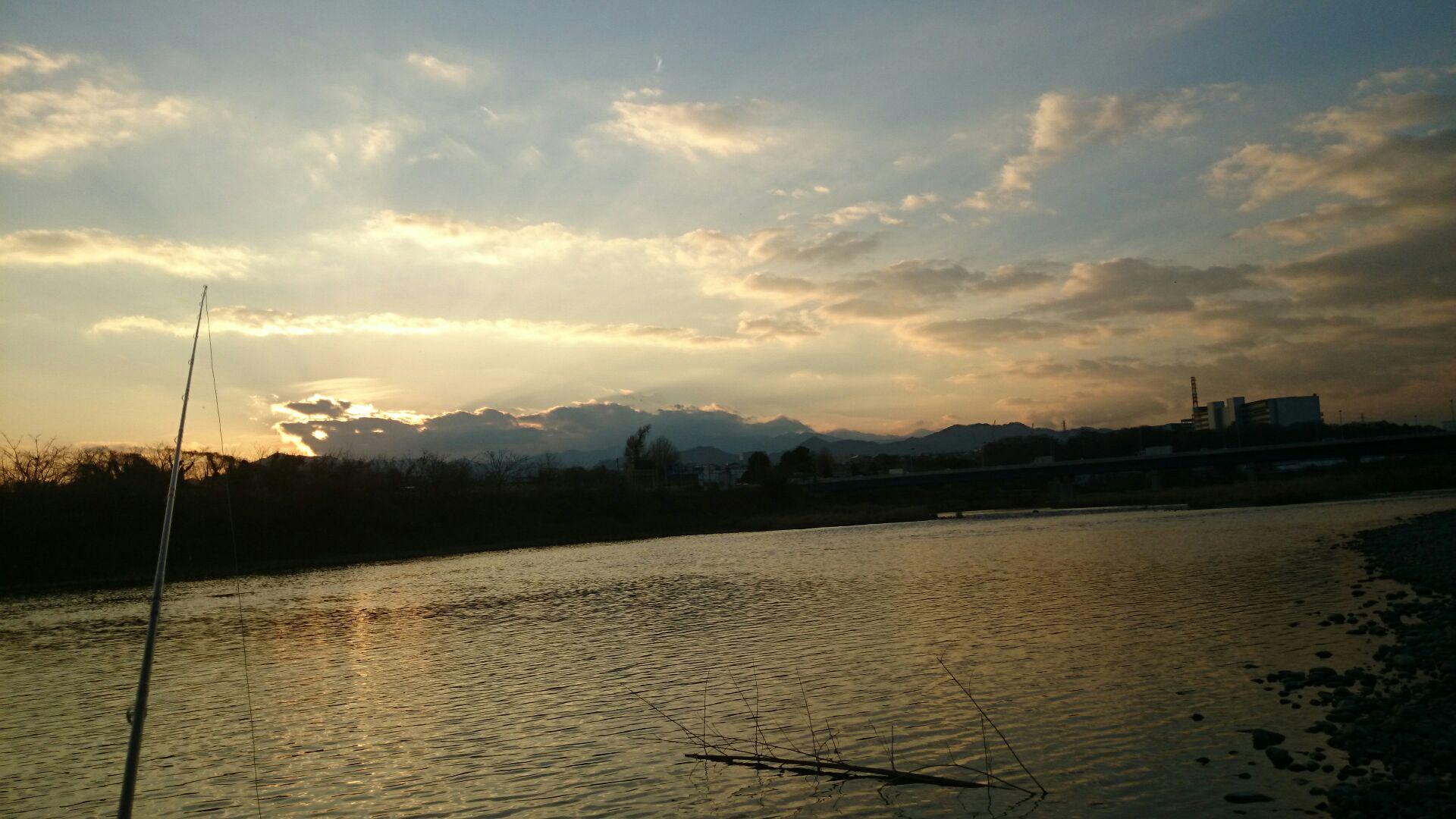 相模川でキャス練PartⅠ